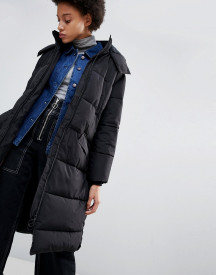 Parka London Amelia Long Quilted Coat afbeelding