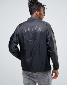Poler Coach Jacket With Logo Back Print afbeelding