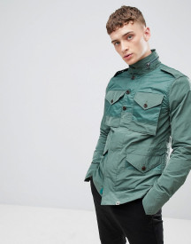 Pretty Green M65 Field Jacket In Green afbeelding