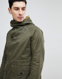 Pretty Green Over Head Jacket In Khaki afbeelding