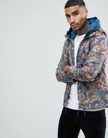 Pretty Green Paisley Windbreaker afbeelding