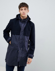 Pretty Green Parka In Navy afbeelding