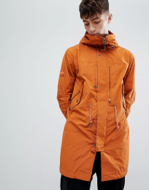 Pretty Green Snorkel Parka Jacket In Orange afbeelding