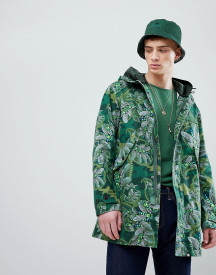 Pretty Green X Katie Eary Cassidy Parka Jacket In Green afbeelding