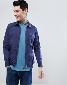 Pretty Green Zip Jacket In Navy afbeelding