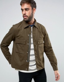 Ps By Paul Smith Military Jacket In Khaki afbeelding