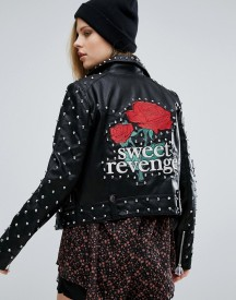 Pull & Bear Star Studded Jacket afbeelding