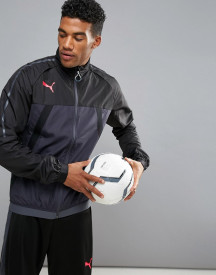 Puma Football Evotrg Thermo Training Jacket In Black 65532506 afbeelding