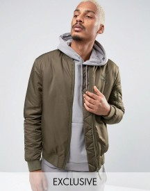 Puma Padded Bomber Jacket In Green 57445802 afbeelding