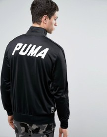 Puma Track Jacket In Black afbeelding