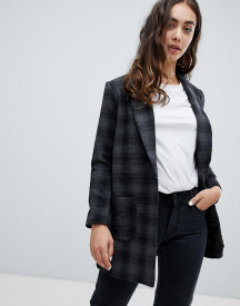 Qed London Check Coat afbeelding