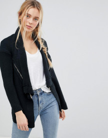 Qed London Waterfall Knitted Jacket afbeelding