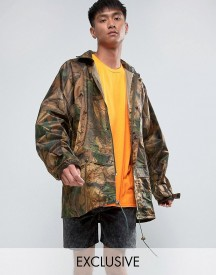 Reclaimed Vintage Revived Military Camo Jacket afbeelding