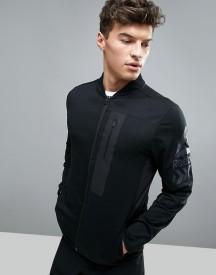 Reebok Training Track Jacket In Black Bk4509 afbeelding