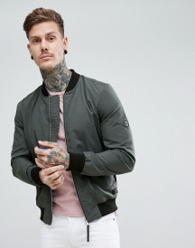 Religion Bomber Jacket With Logo afbeelding