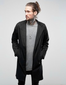 Religion Drop Shoulder Overcoat afbeelding