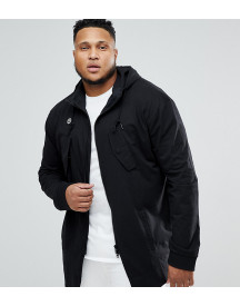 Religion Plus Jersey Parka In Black afbeelding
