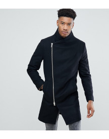 Religion Tall Coat With Asymmetric Zip afbeelding