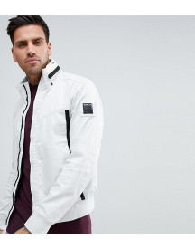 Replay Lightweight Taped Jacket In White afbeelding