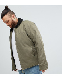 Ringspun Plus Borg Collar Flight Jacket afbeelding