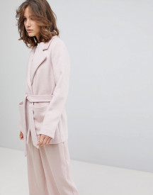 Selected Femme Cropped Trench Coat afbeelding