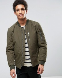 Selected Homme Padded Bomber Jacket afbeelding