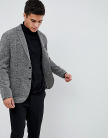 Selected Homme Patch Pocket Blazer With Raw Edge Details In Slim Fit afbeelding