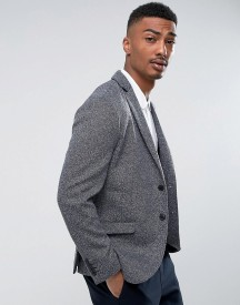 Selected Homme Slim Blazer In Fleck With Stretch afbeelding