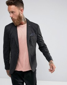 Selected Homme Slim Blazer In Texture afbeelding