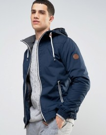 Solid Jacket With Hood afbeelding