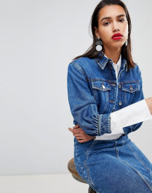 Sportmax Code Crop Denim Jacket Co-ord afbeelding
