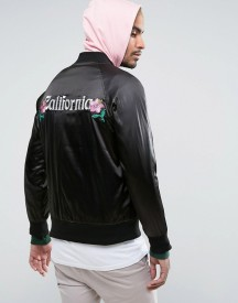 Stussy Bomber Jacket With Back Print afbeelding