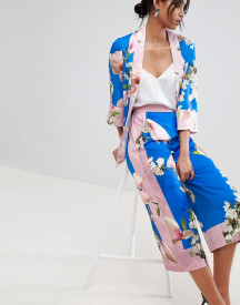 Ted Baker Pleat Back Jacket In Harmony Floral afbeelding