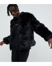 The New County Bomber Jacket In Faux Fur afbeelding