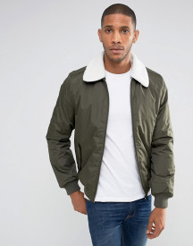 Threadbare Borg Collar Jacket afbeelding