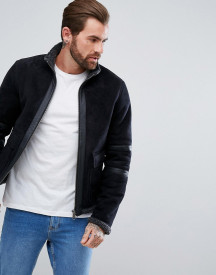 Threadbare Borg Flight Jacket afbeelding