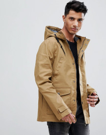 Threadbare Hooded Coat With Toggles afbeelding