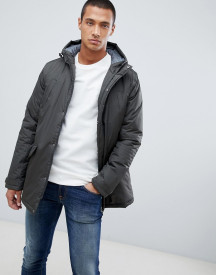 Threadbare Hooded Parka Jacket afbeelding