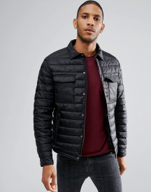 Threadbare Quilted Shacket afbeelding