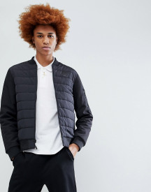 Timberland Insulated Body Nylon Bomber Jacket In Black afbeelding