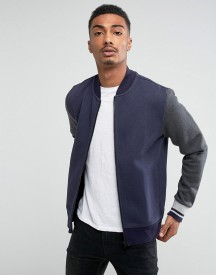 Tommy Hilfiger Adrien Baseball Bomber In Navy afbeelding