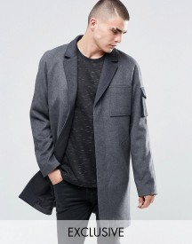 Underated Wool Overcoat afbeelding