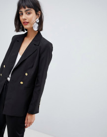 Unique 21 Jersey Blazer With Gold Button Detail afbeelding