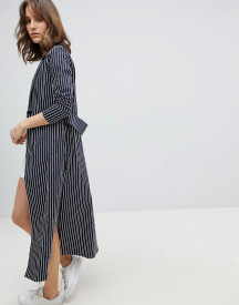 Unique21 Pinstripe Long Jacket afbeelding