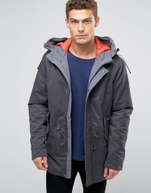United Colors Of Benetton Parka With Quilted Lining afbeelding