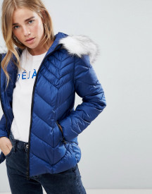 Urban Bliss Chevron Padded Jacket afbeelding