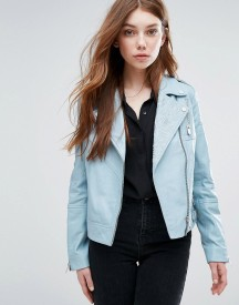 Urbancode Embroidered Biker Jacket afbeelding