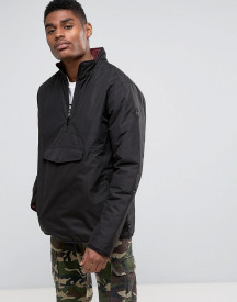 Vans Tilman Mte Pull Over Jacket In Black Va36jsblk afbeelding