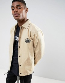 Wasted Paris Coach Jacket With Embroidered Logo afbeelding