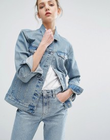 Weekday Double Denim Jacket afbeelding
